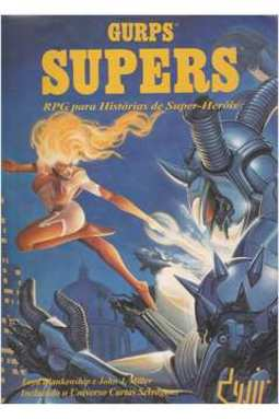 Gurps: Supers: Roleplaying Game para Super-Heróis - RPG