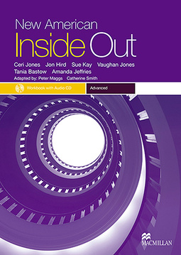 New American Inside Out Workbook With Audio CD-Adv.