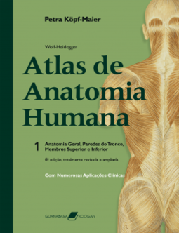 795ace003 Wolf-Heidegger: Atlas de Anatomia Humana - g. wolf-heidegger & petra ...