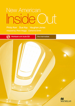 New American Inside Out Workbook With Audio CD-Pre-Int.