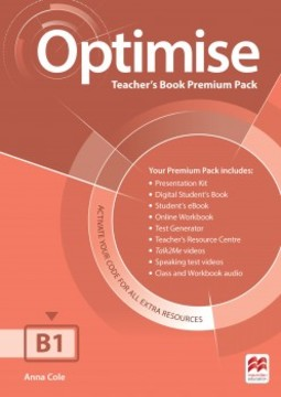 Optimise Teacher's Book Premium Pack B1