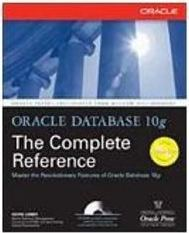 Oracle Database 10g: the Complete Reference - Importado