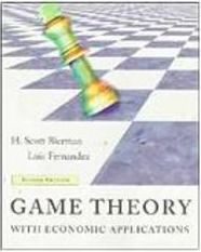 Game Theory with Economic Applications - Importado