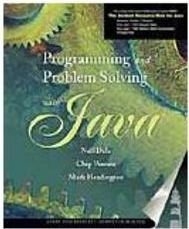 Programming and Problem Solving with Java - Importado
