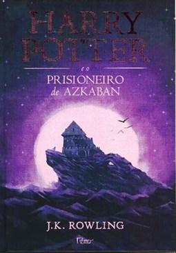 14++ Harry Potter E O Prisioneiro De Azkaban Livro Capa
