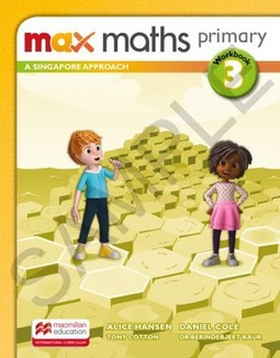 Max maths primary 3: a Singapore approach - Workbook