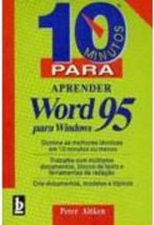 10 Minutos para Aprender Word para Windows 95 Leig
